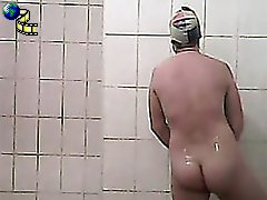 3 movies - Spying after a curvy beauty in the showers